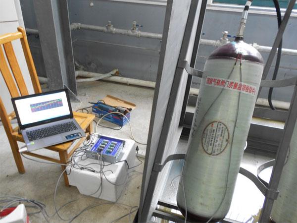 国家气瓶阀门质量监督检验中心ASMD5-8应变仪测试